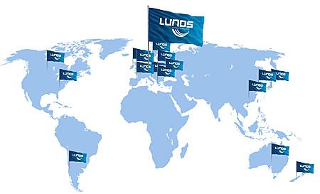 LUNOS på världskartan