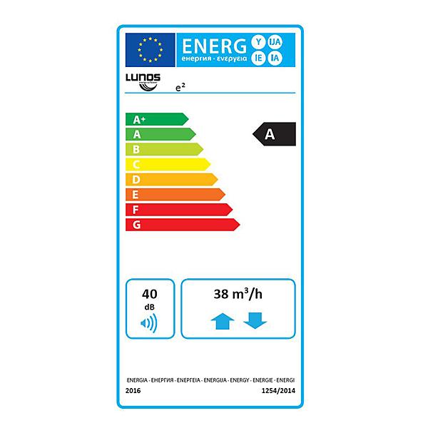 LUNOS E2 Energideklaration