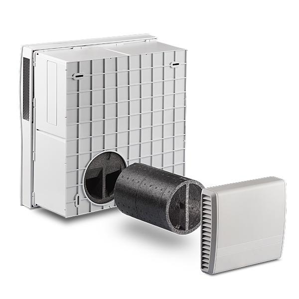 LUNOS NEXXT Decentraliserad ventilation
