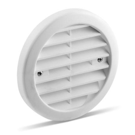 Produkt LUNOS vitt standard yttergaller frånluftsventilation
