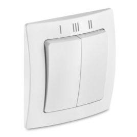 Väggbrytare ventilationsstyrning LUNOS